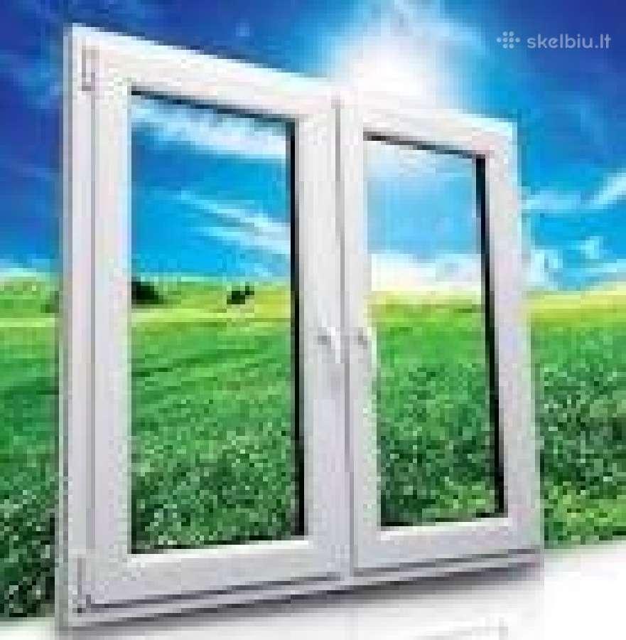 Plastikiniu langu,sarvuotu duru, remontas