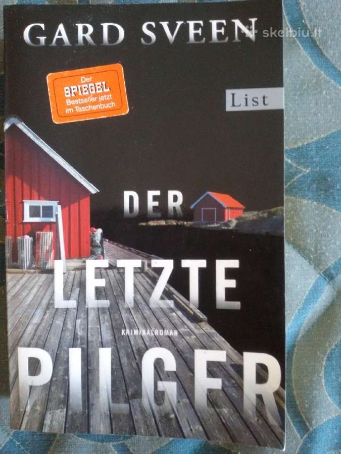 Der letzte Pilger Gard Sveen 2017m.kriminalroman