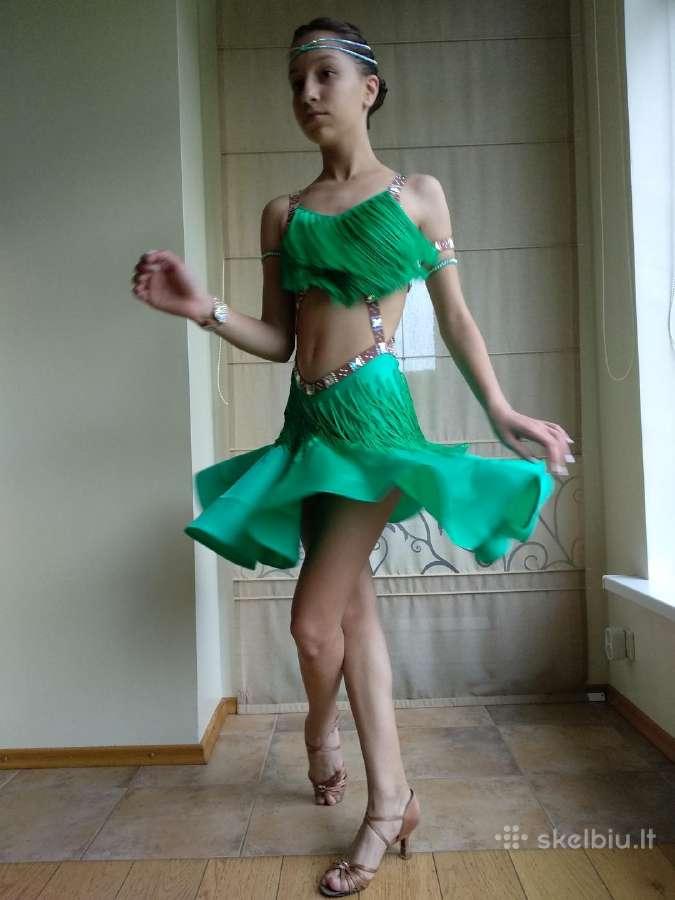Jauniai II (ir aukščiau) Lotynų suknelė