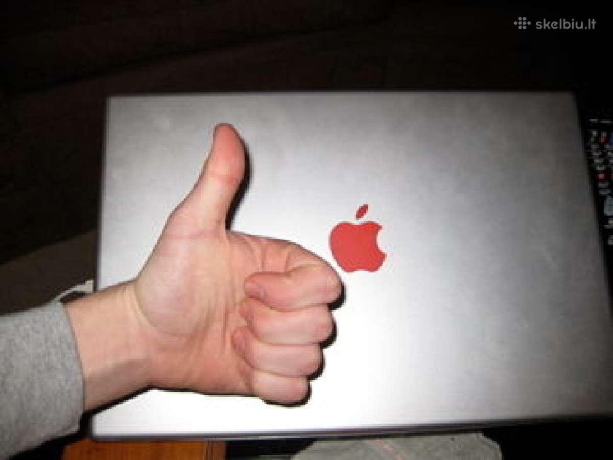 Apple dalys ir remontas