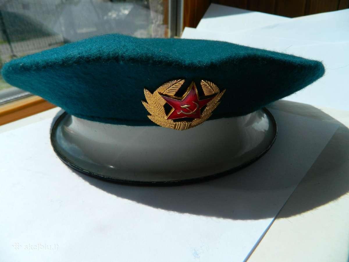 Tarybinio pasieniecio berete,nauja