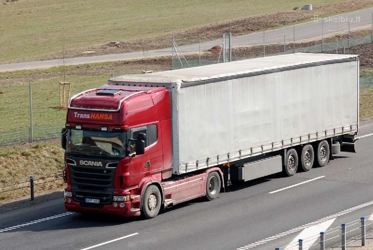 Ieškomi tarptautinių pervežimų vairuotojai !