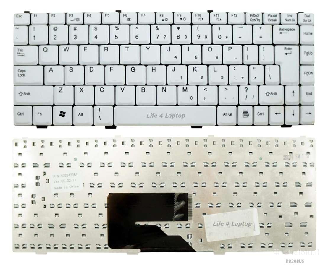 Klaviatūros Fujitsu