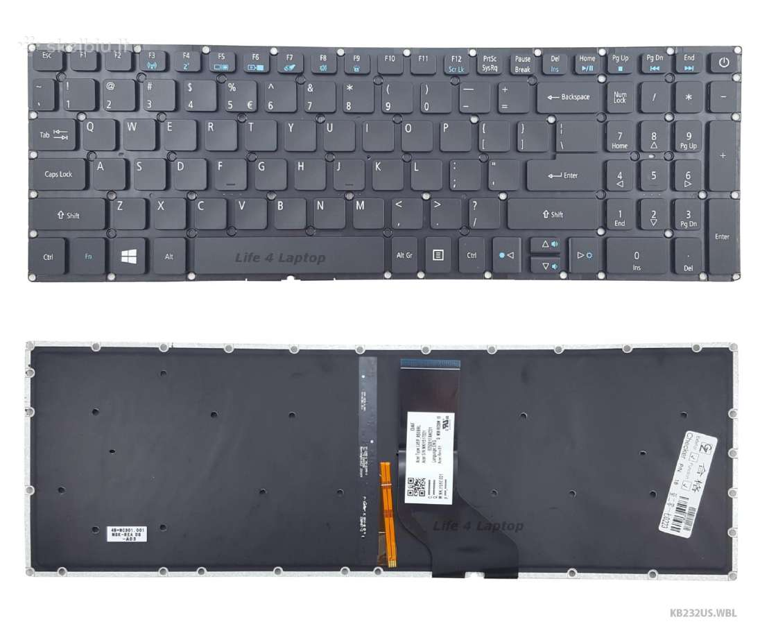 Klaviatūros Acer