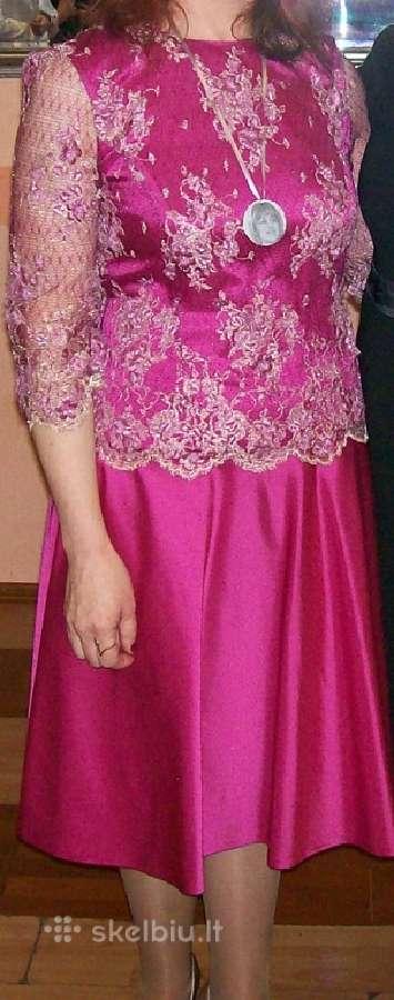 Pagal užsakymą siūta proginė suknelė
