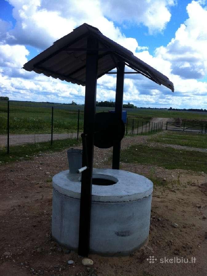 Suliniu kasimas statymas irengimas,kanalizaciju