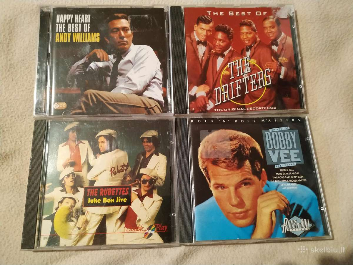 Andy Williams Drifters Bobby Vee RubettesCD