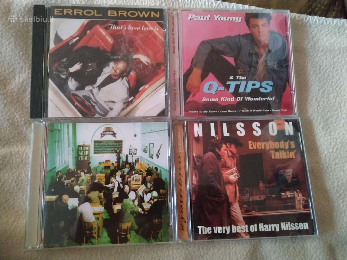 Errol Brown Paul Young oasis Harry Nilsson CD