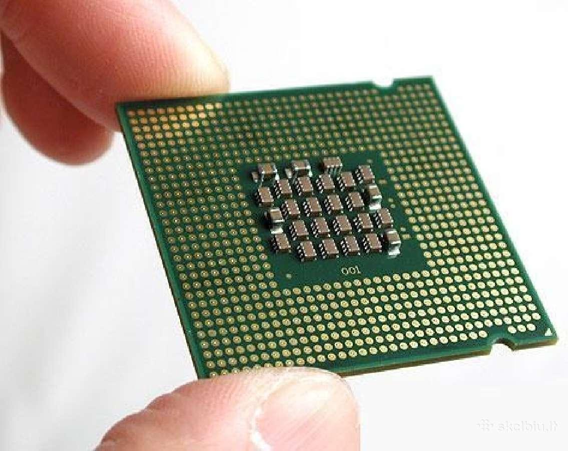Nešiojamų ir stacionarių kompiuterių procesoriai