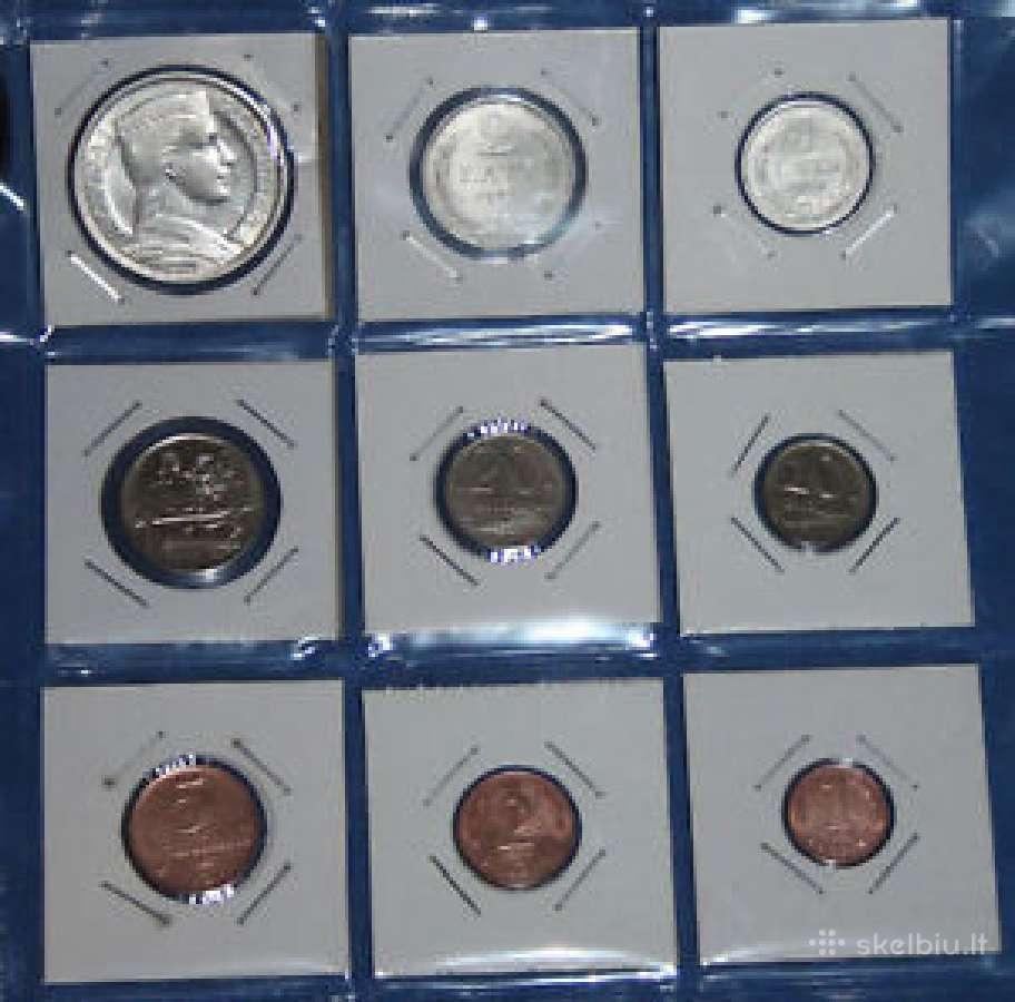Perku latvijos tarpukario monetas
