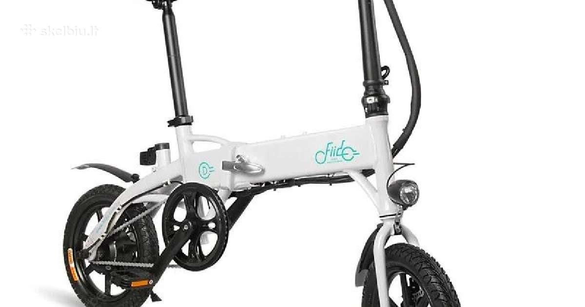 Parduodu elektrinį sulankstomą dviratį