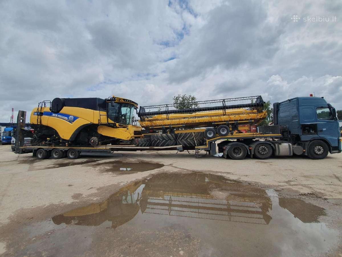 Negabaritinių krovinių pervežimas 48 tonos 20m