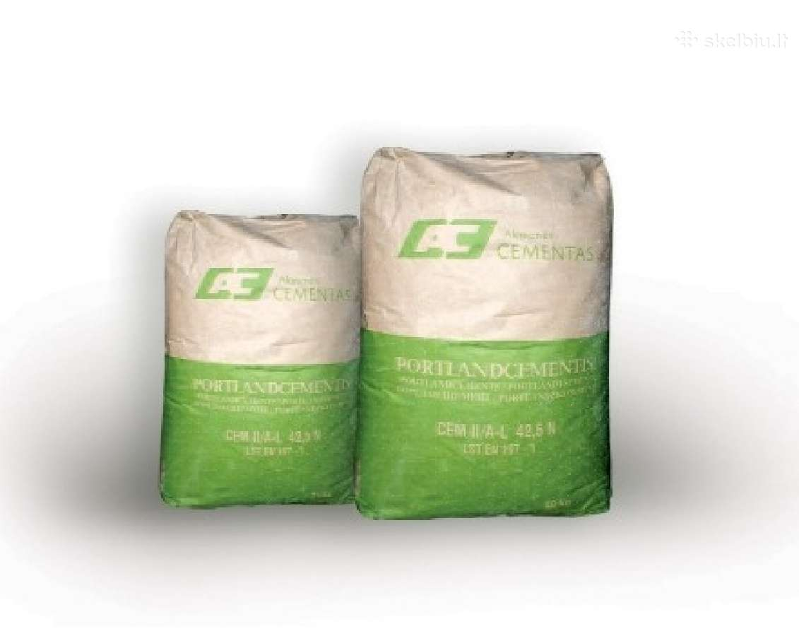 Cementas 2.80 Eur/35kg+pvm