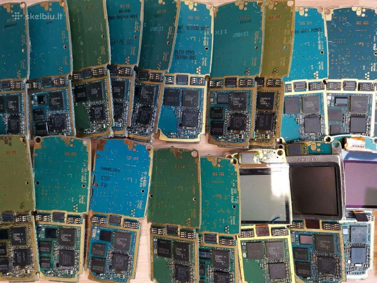 Nokia mobiliųjų telefonų dalys