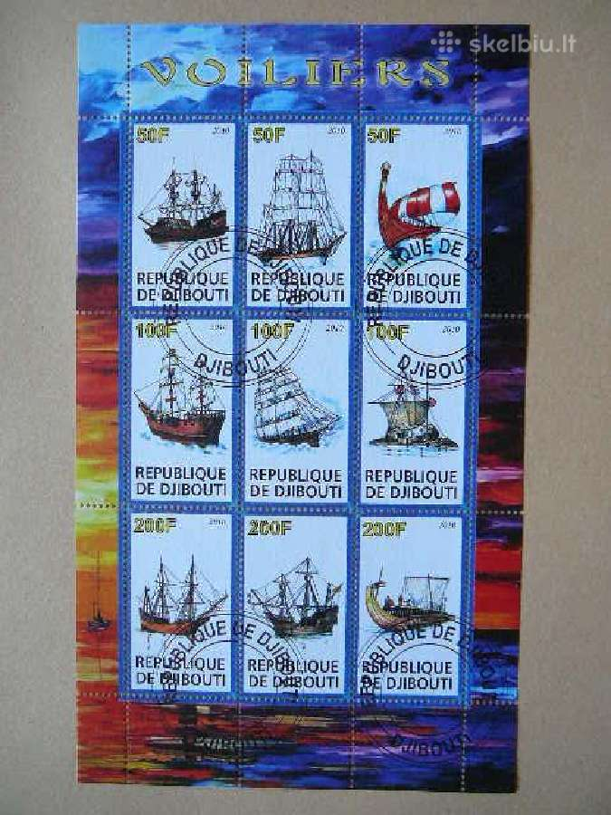 Burlaiviai #s693 Laivai
