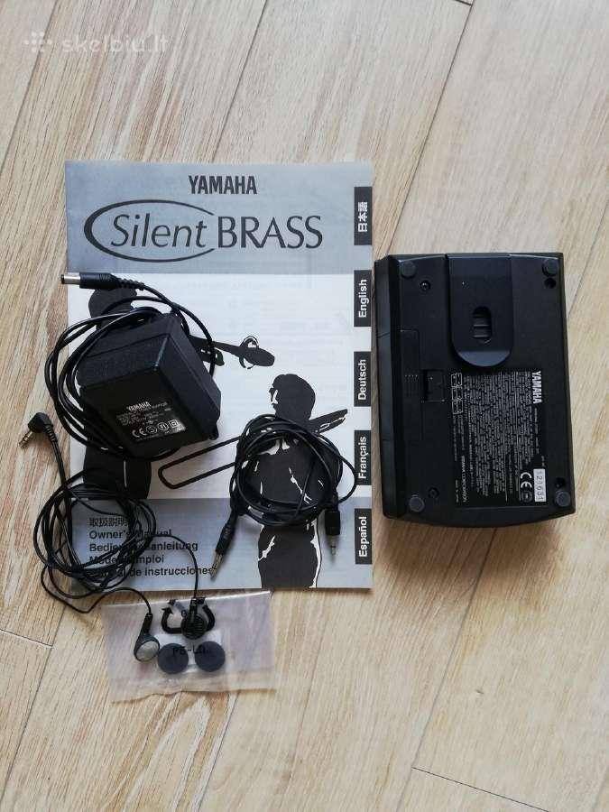 Yamaha silent brass. Euphonium.