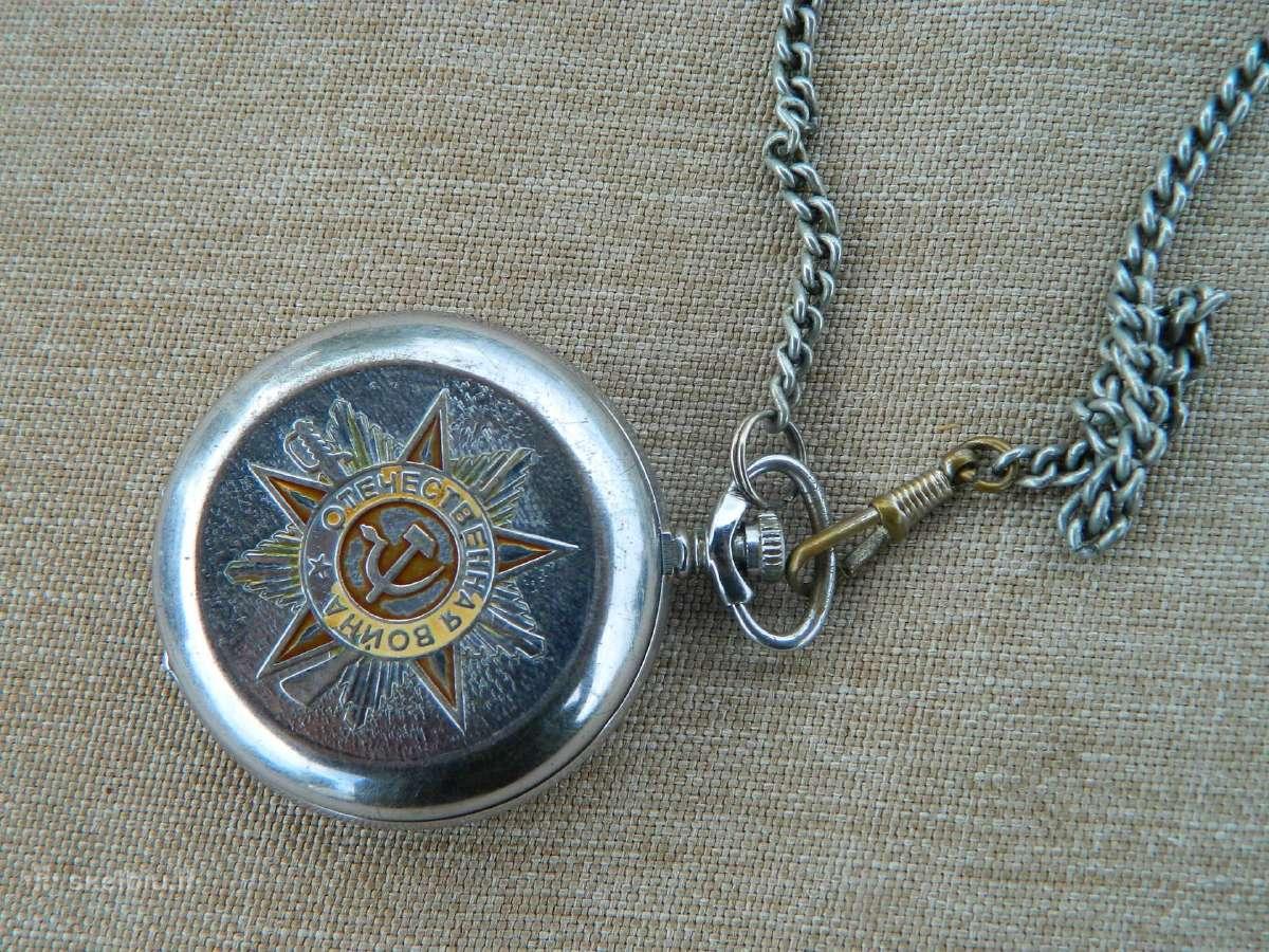 Kiseninis laikrodis Molnija 40 m.pergalei