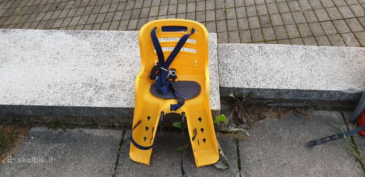 Naudota vaikiška dviračio kėdutė