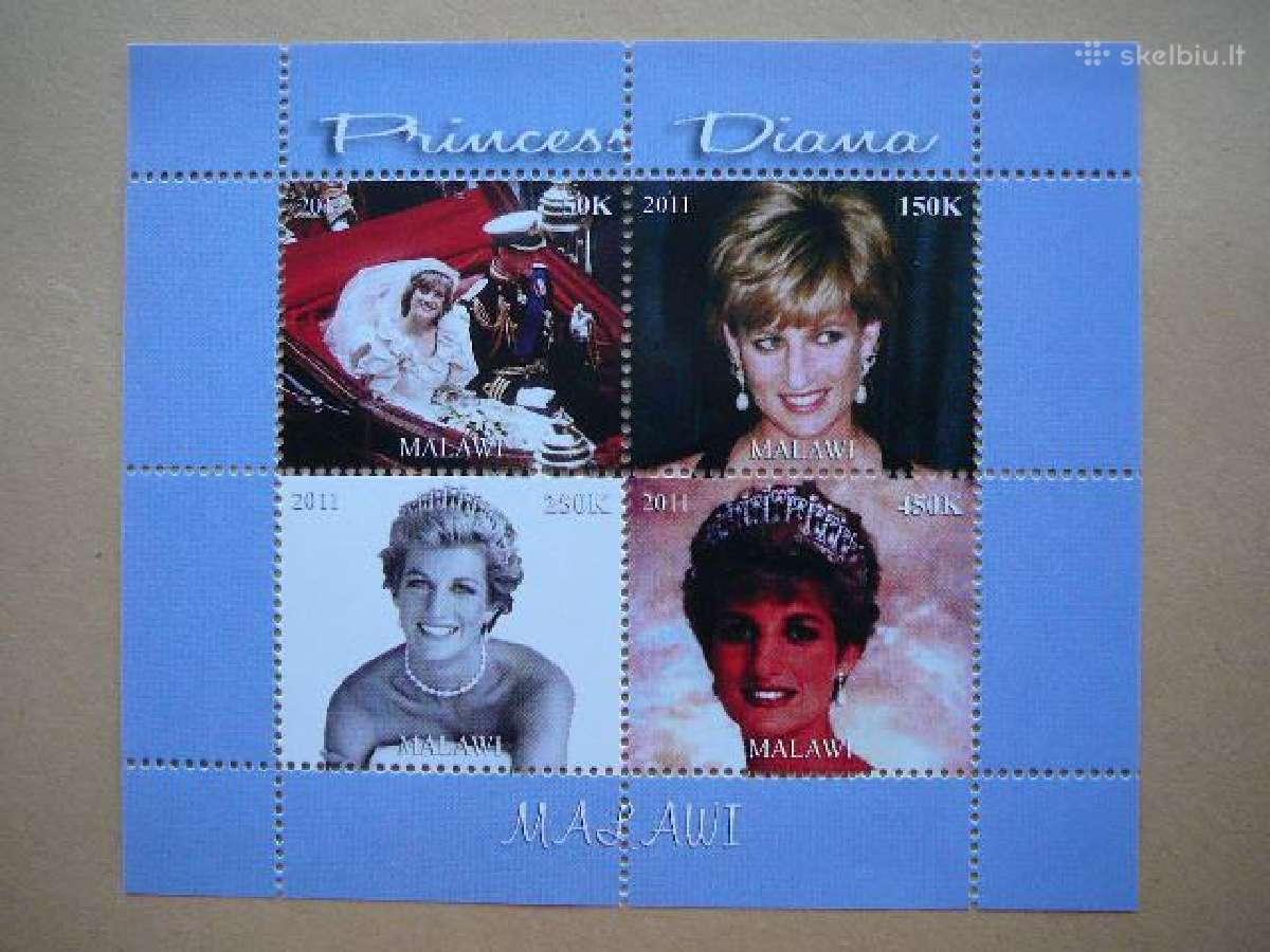 Velso princesė Diana svarus #m1832