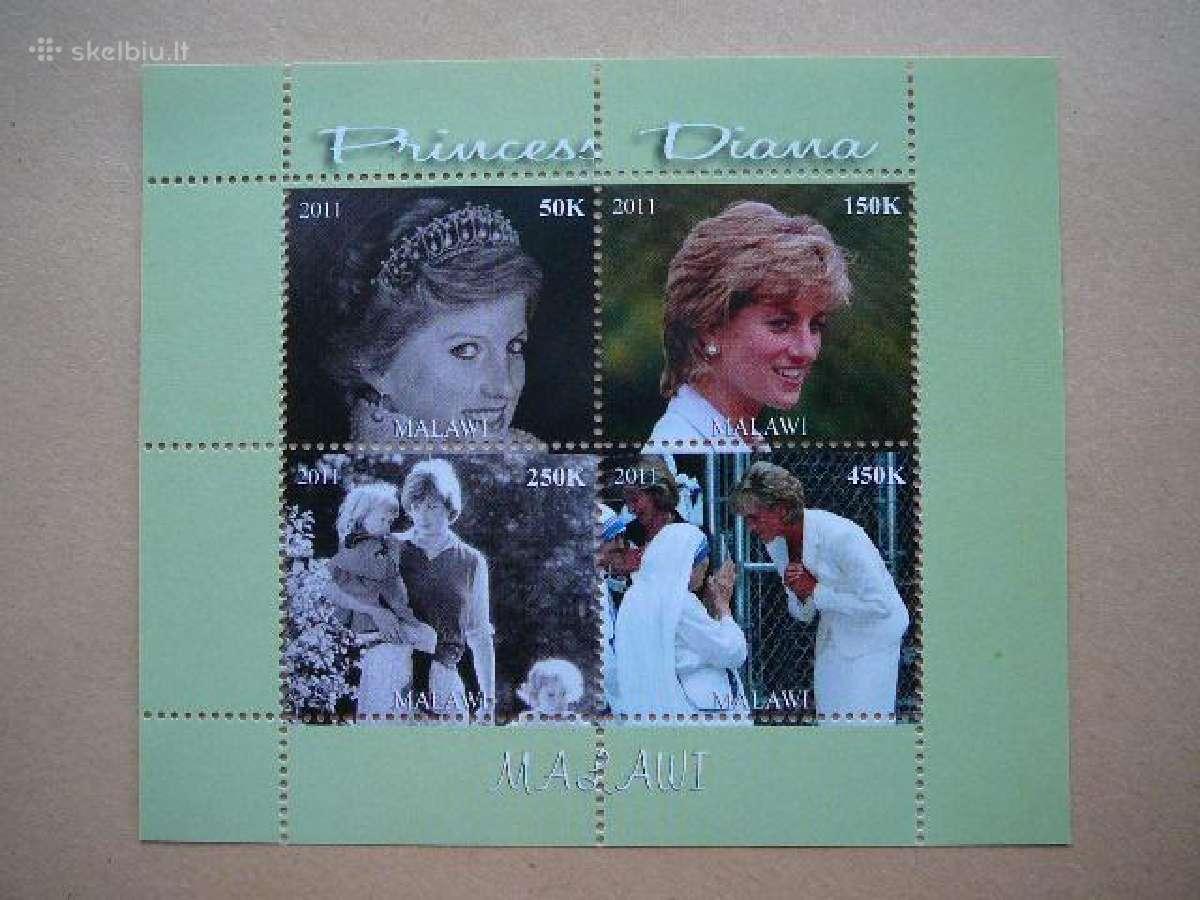 Velso princesė Diana svarus #m1834