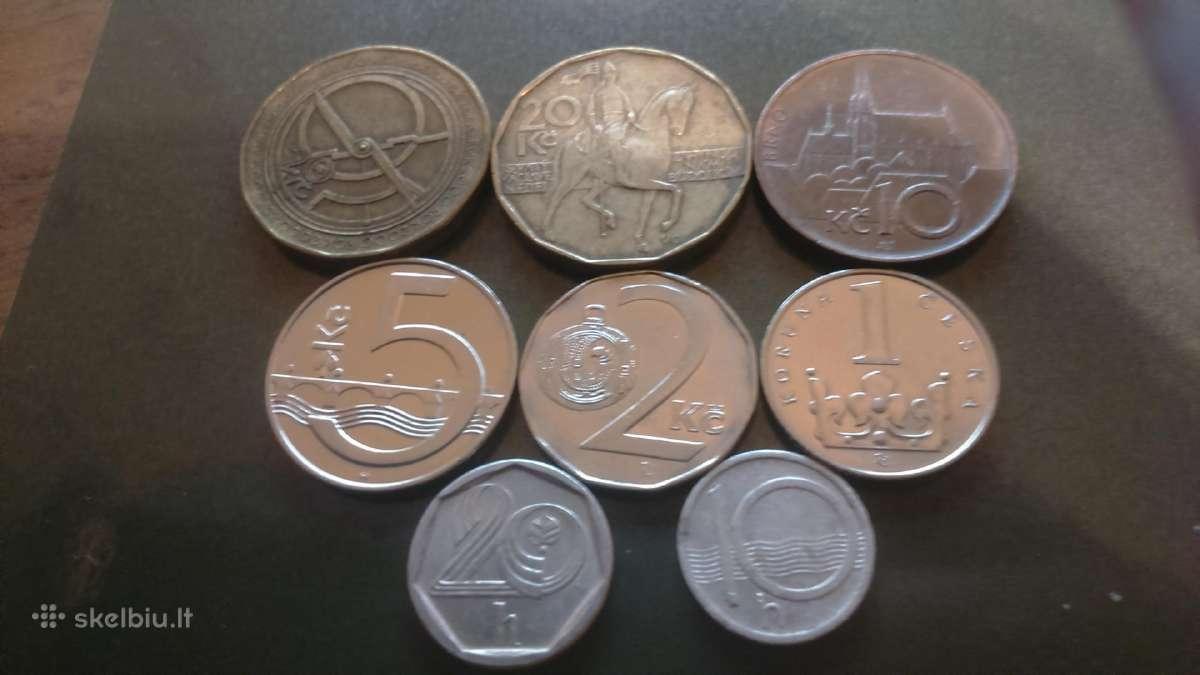 Čekijos monetu rinkinys