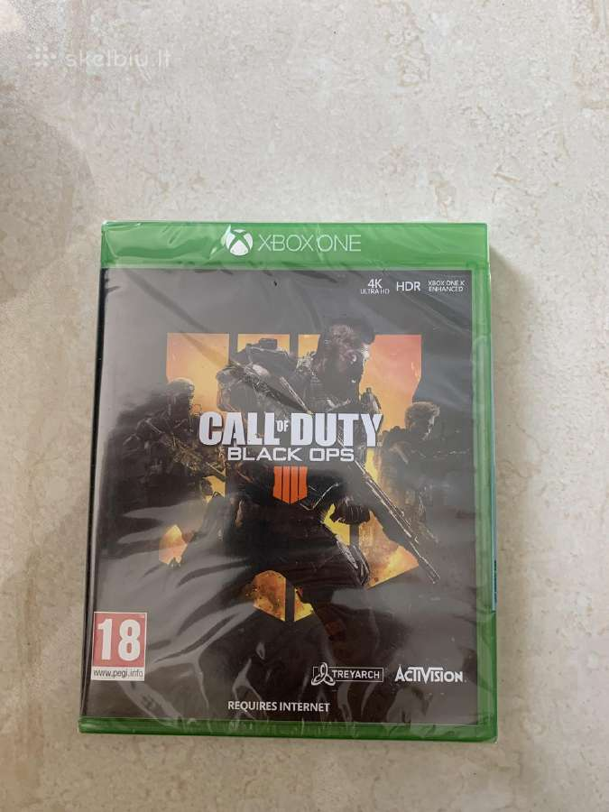 Naujas Call of Duty Black Ops 4