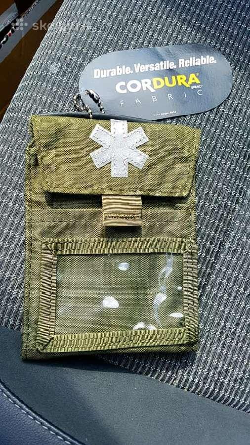 Naujas krepšelis Helikon Pocket Med M04 Žalia