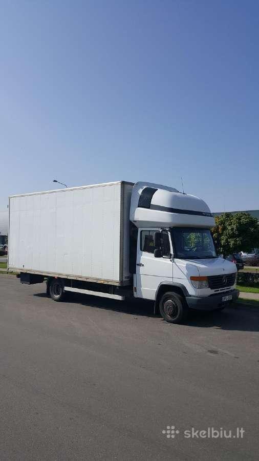 Krovinių pervežimo ir perkraustymo paslaugos