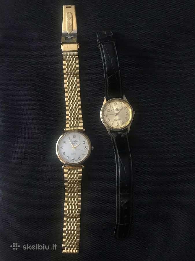 Senoviniai rankiniai laikrodžiai