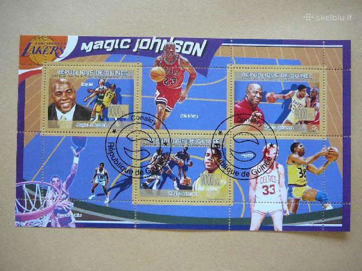 Krepsinis Magic Johnson #gui12
