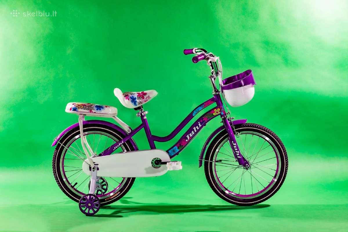 """Vaikiškas naujas dviratukas 18"""" Juhi"""