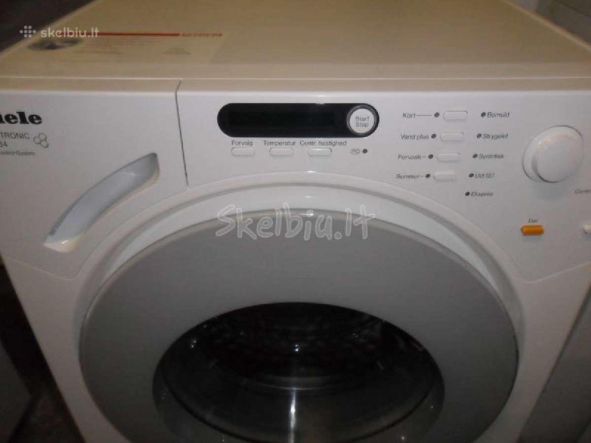Miele skalbimo masinos