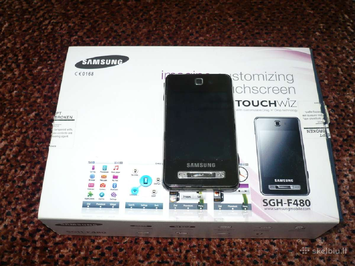 Parduodu Samsung Sgh-f480