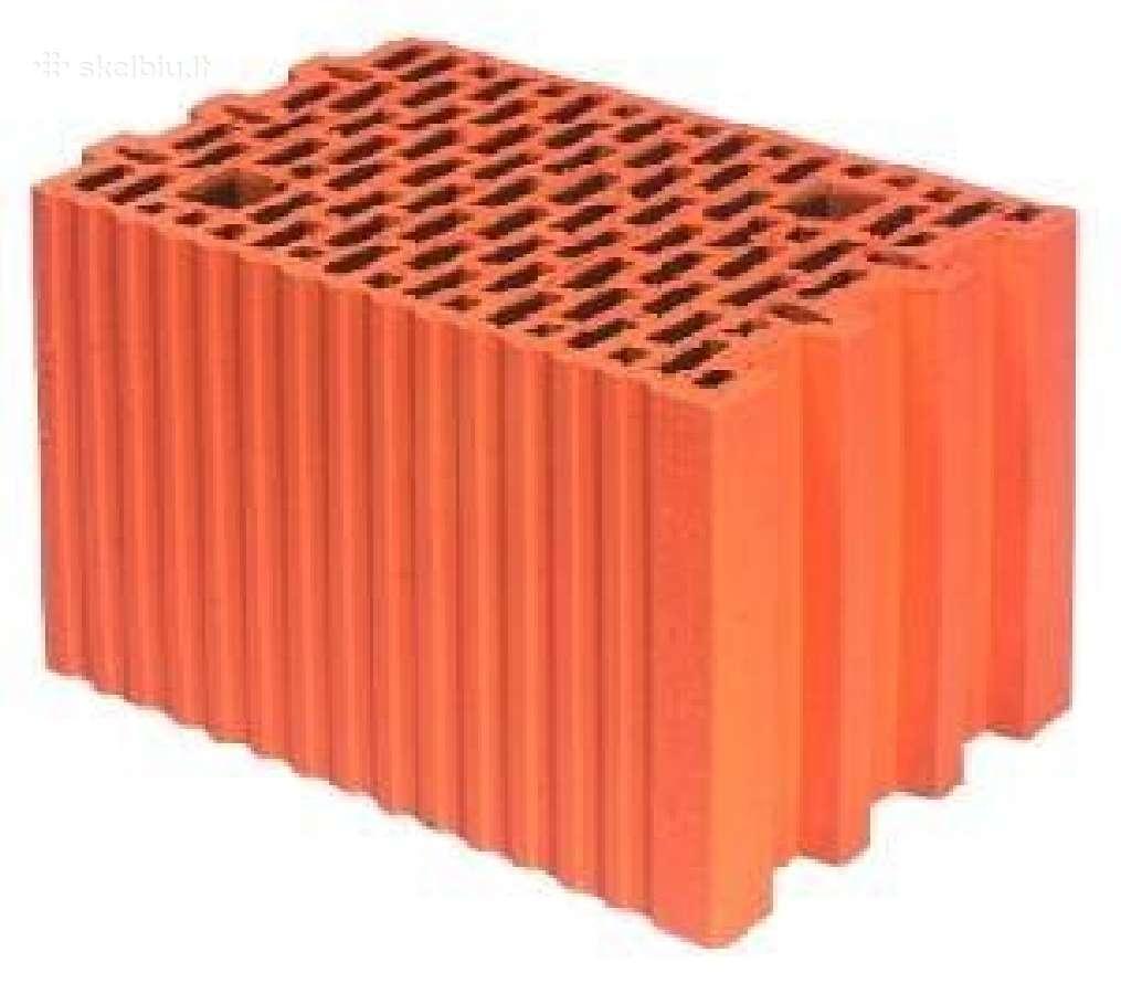 Porotherm keraminiai blokai. Tik nuo 55 eur/m3