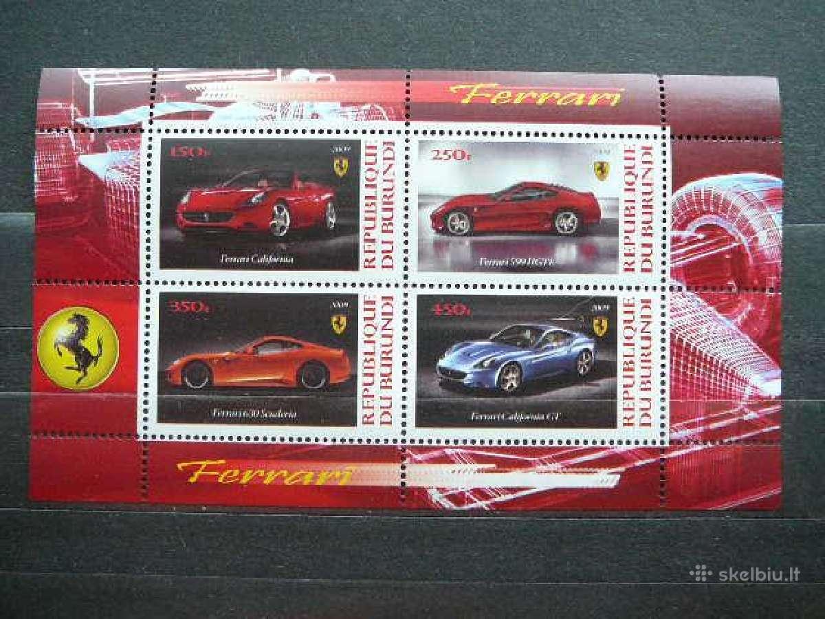Automobiliai Ferrari svarus #g0055