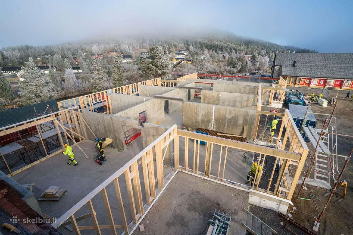 Darbas statybose Norvegijoje