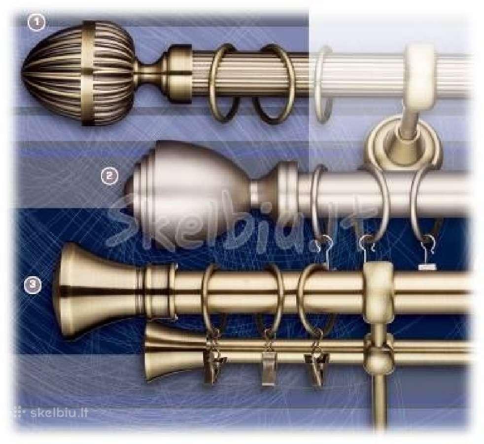 Širmos mechanizmas 3 arba 5 takelių