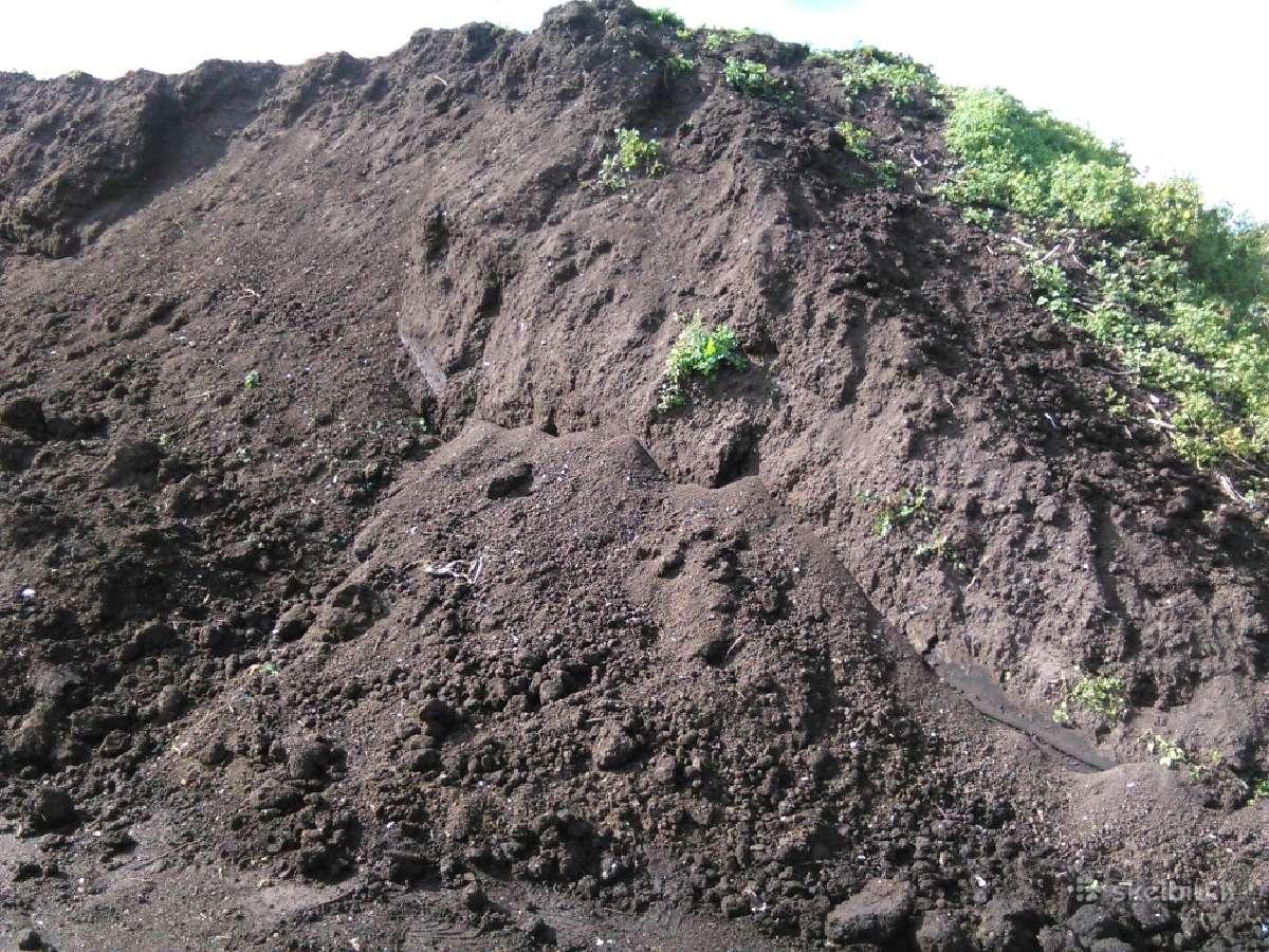 Kompostas,žvyras,smelis,skalda Nedideleis Kiekiais