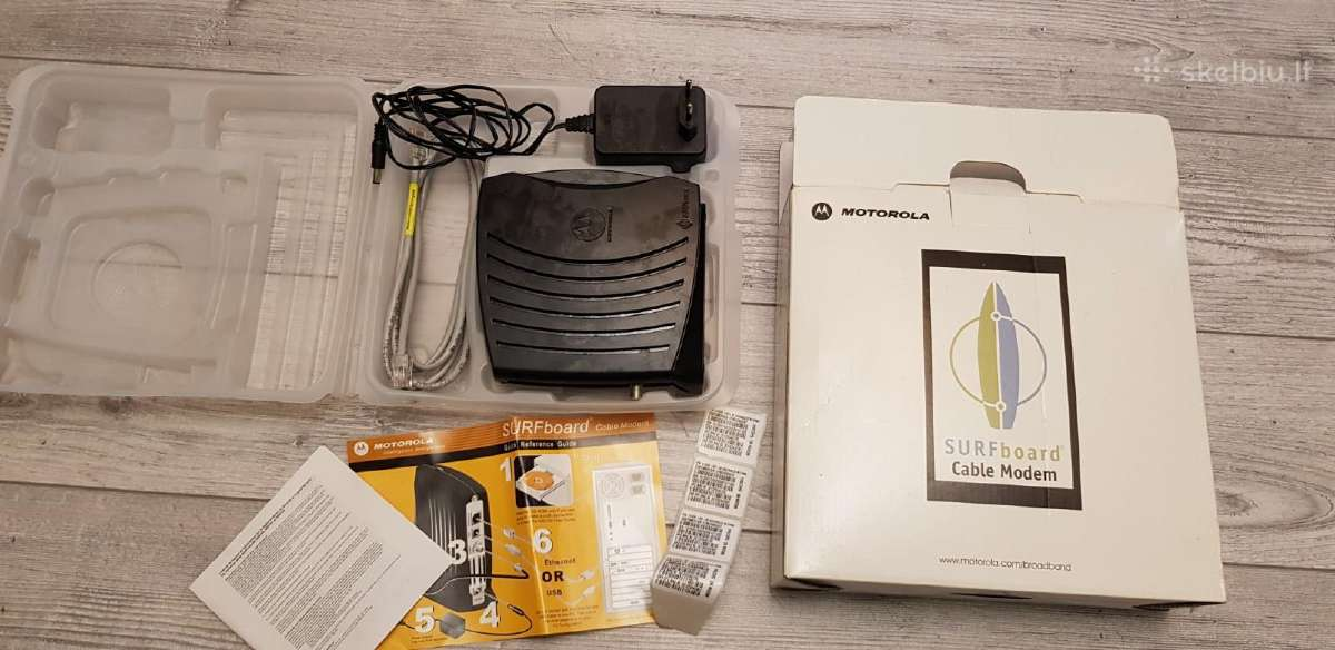 Motorola Surf Board cable modem