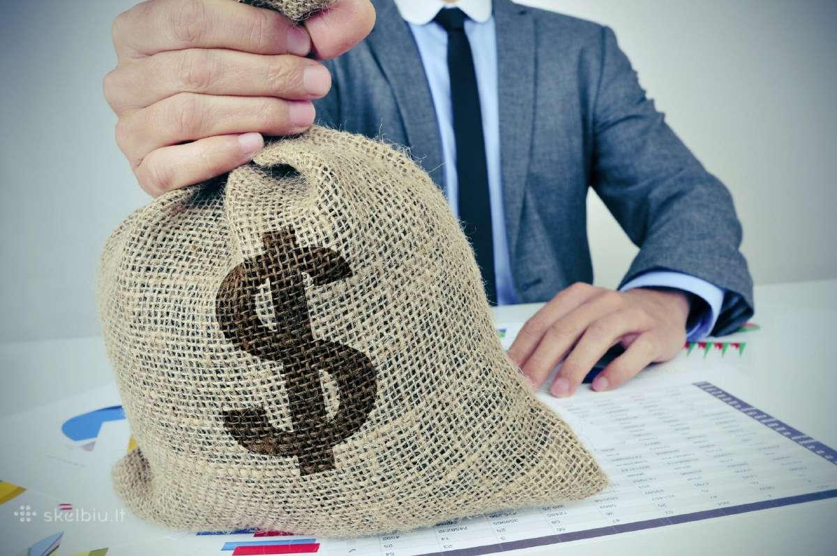 Paskolos ir vartojimo kreditai mažomis palūkanomis