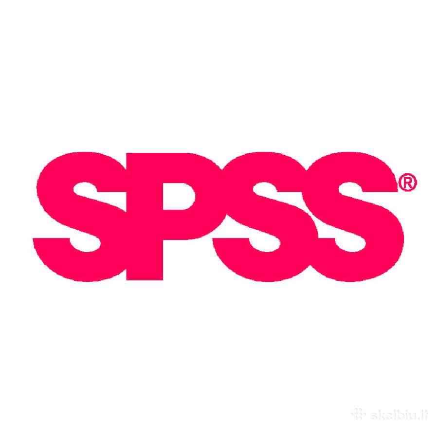Darbai su Spss, apklausų apdorojimas, ekonometrija