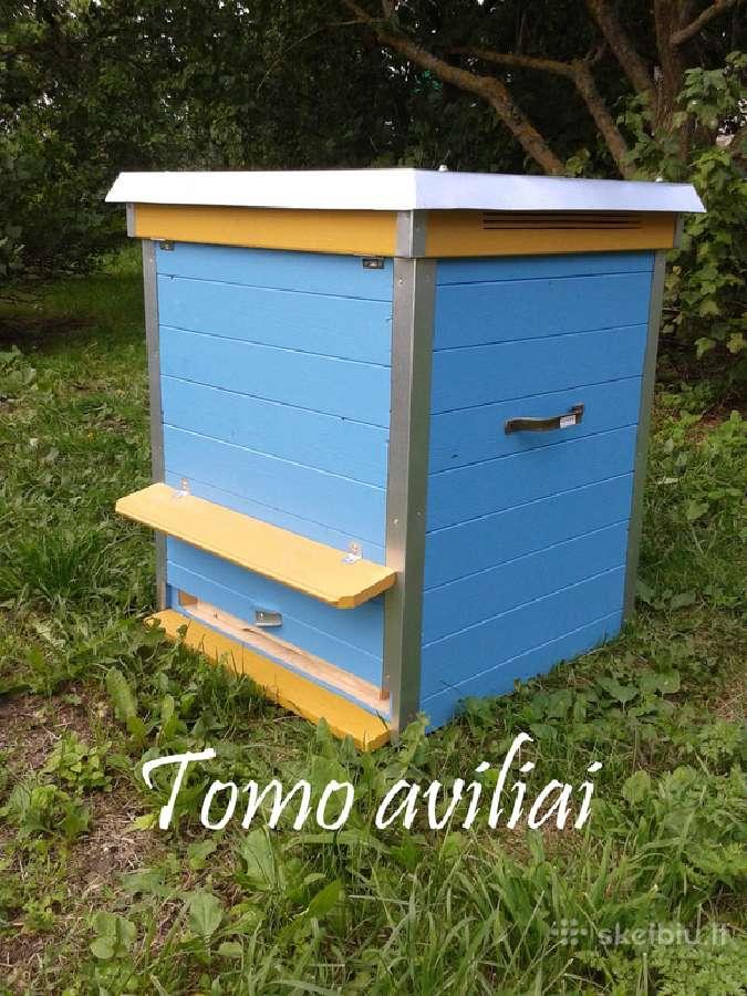 Aviliai bitėms. Tomoaviliai