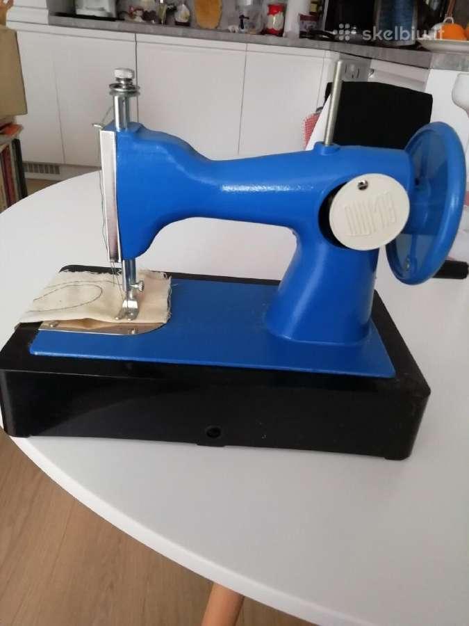 Rusų gamybos, vaikiška nauja siuvimo mašinėlė