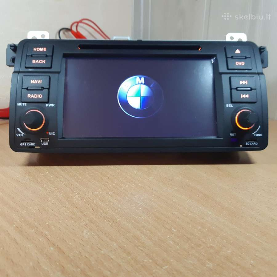 Bmw E46 Android 9.0 2gb RAM + Ips
