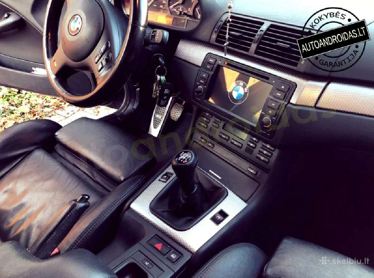 Bmw 3 E46 1998-06 Android8 multimedia Usb/GPS/WiFi