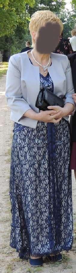 Ilga, proginė suknelė su svarkeliu 46 dydis