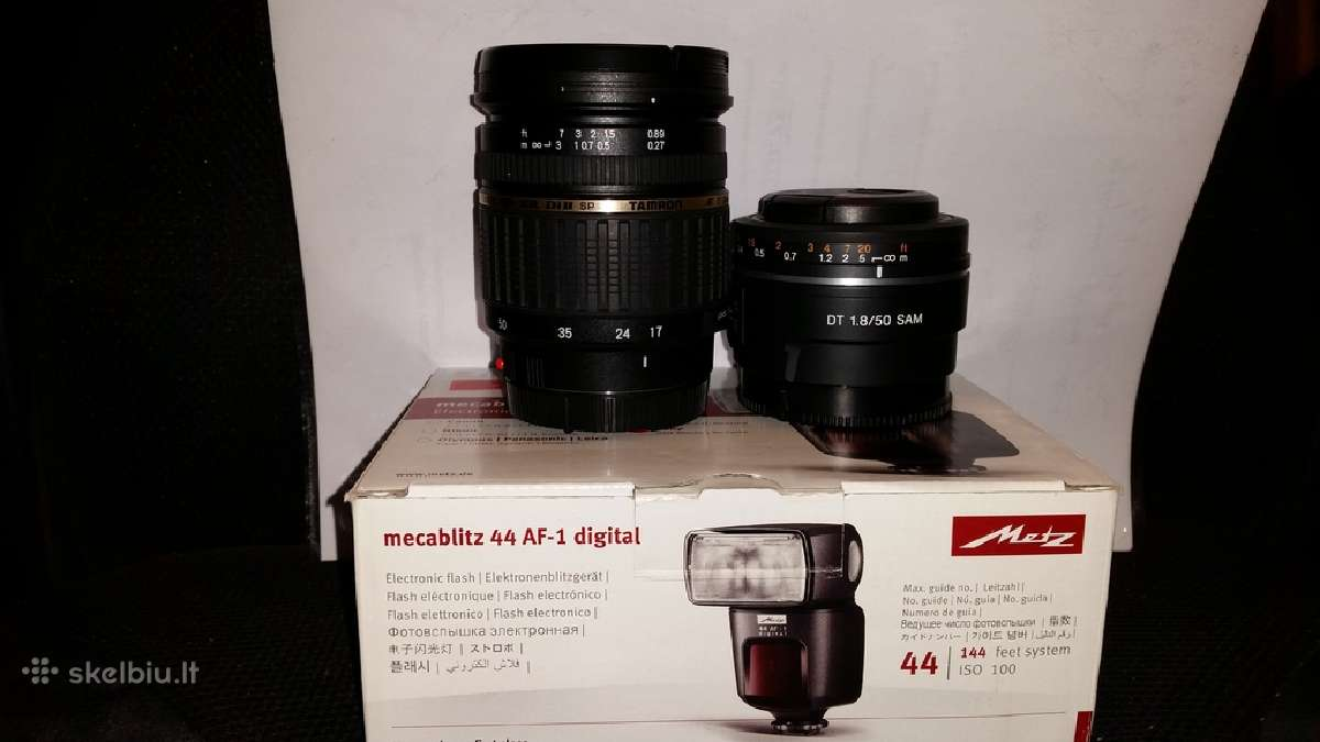 Sony fotoparatam objektyvas 50mm f1,8