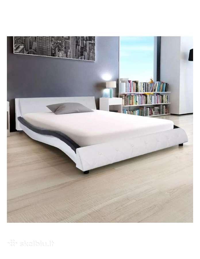Lova su čiužiniu, Miegamojo lovos dydis 140x200 cm