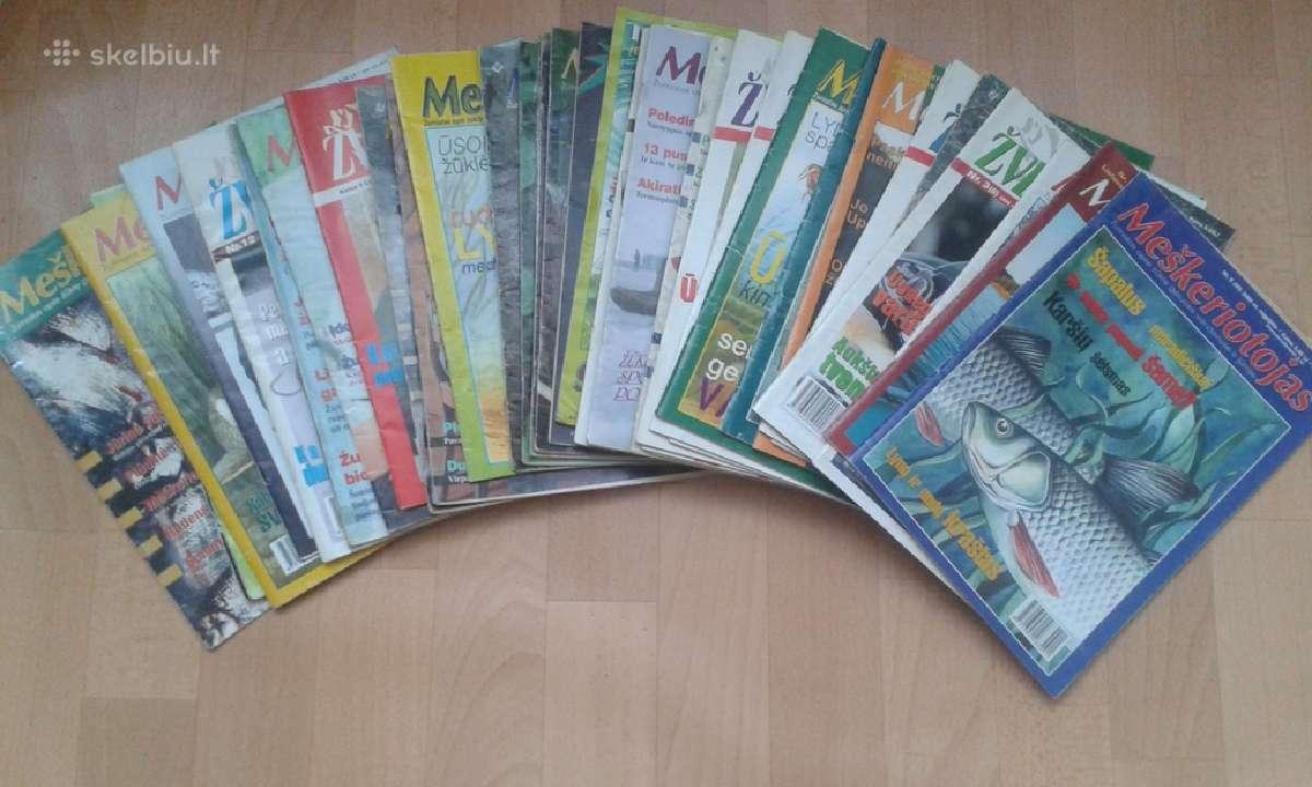 Žurnalai apie žvejybą