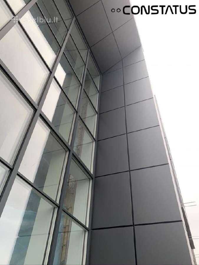 Alucobond fasadai. Stogų dengimas ir įrengimas